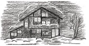 -  当社の家は、大工が木材を墨付、切込みをして、柱や梁を見せる空間造りをしています。柱や梁は通常では壁・天井の中に隠れてしまいますが、これを見せることにより同じ広さの空間でもより広く感じます。その理由としては、柱・梁を見せようと作り手が技術を使い、見るに耐えられる納めを表現しているからです。マンションのような白い壁の空間を、木で組んだ真壁・天井表しのような表現と比較すると、広さの違いをはっきり感じると思います。後者は壁なり天井に「見てほしい」という意識があるからでしょう。 例えば、木造の和風旅館を思い浮かべると、ホテルよりは木造の旅館の方がのんびり寛げると思います。コンクリートのマンションも、空間に人を感じないため寛げないと思うかもしれません。では、木造でもログハウスはどうなのでしょうか。ログハウス(丸太横積み)のような空間に長時間いると、木に圧迫感を覚えす。そこで生活をすると考えると落ち着かない、と思いませんか? 明治の大工さんは住宅の土台から仕上げの軒先の隅まで納まりを叩き込まれ職人となりました。その期間は棟梁になるまでに10年~15年はかかったといいます。世界中を見てもこのような長い期間をかけて一人前になる職業は他にないと思います。そのようなムダに腕のよい職人が造る空間には機能ばかりではなくて、人が長く住むことを可能にするために、木のアクの強さを制御しその棟梁の個性(色気)をも表現できるまでになっているのです。 -  -