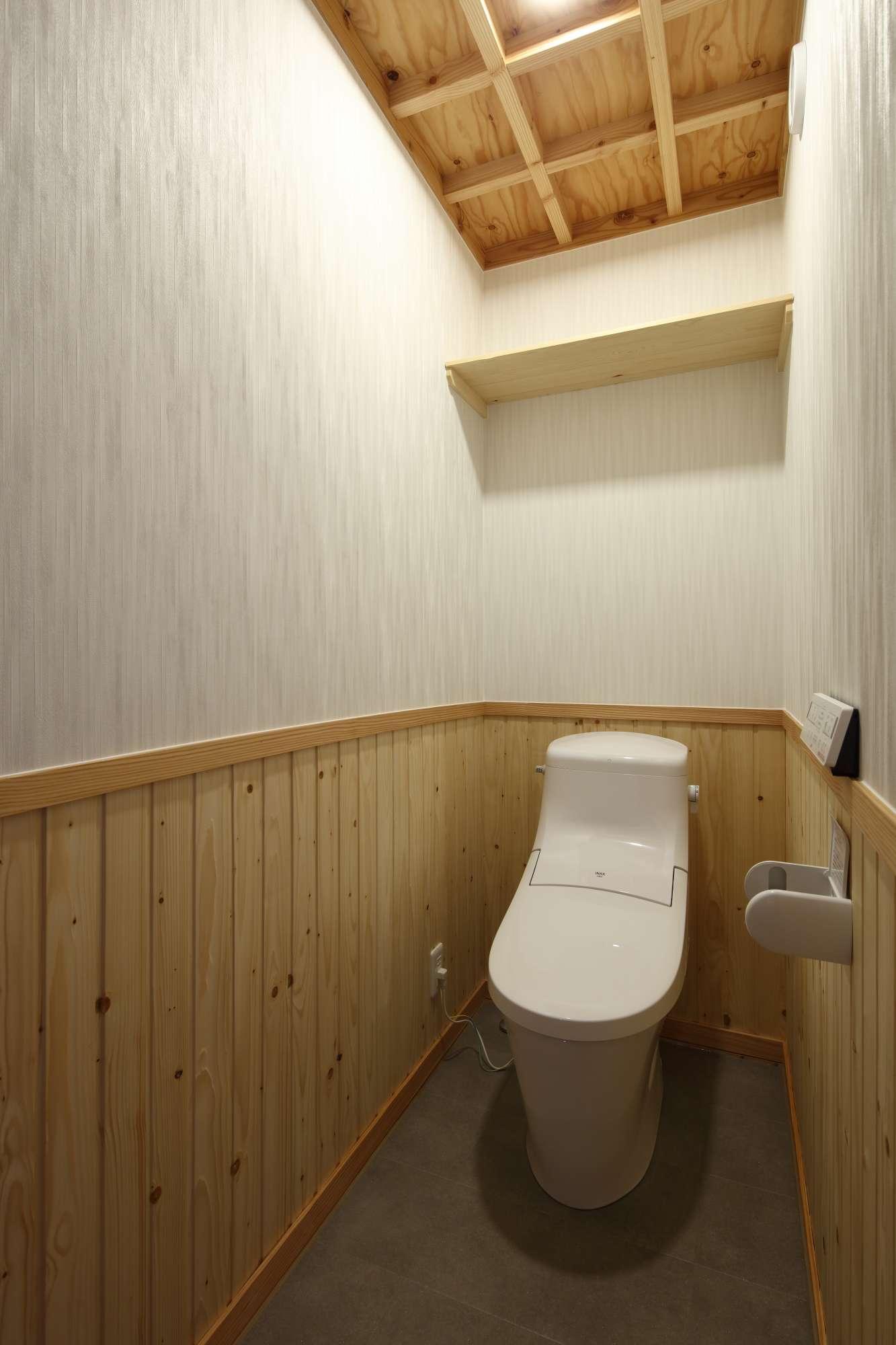 トイレにも、職人の技と心意気。 -  -  -