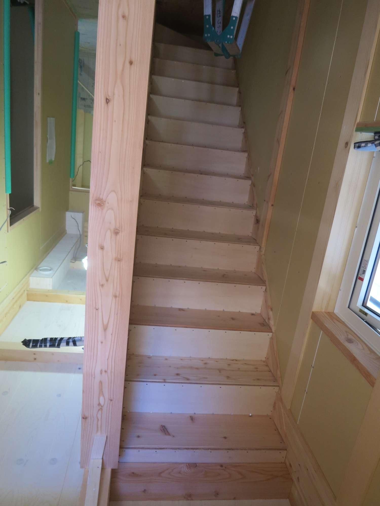 階段造作 -  -  -