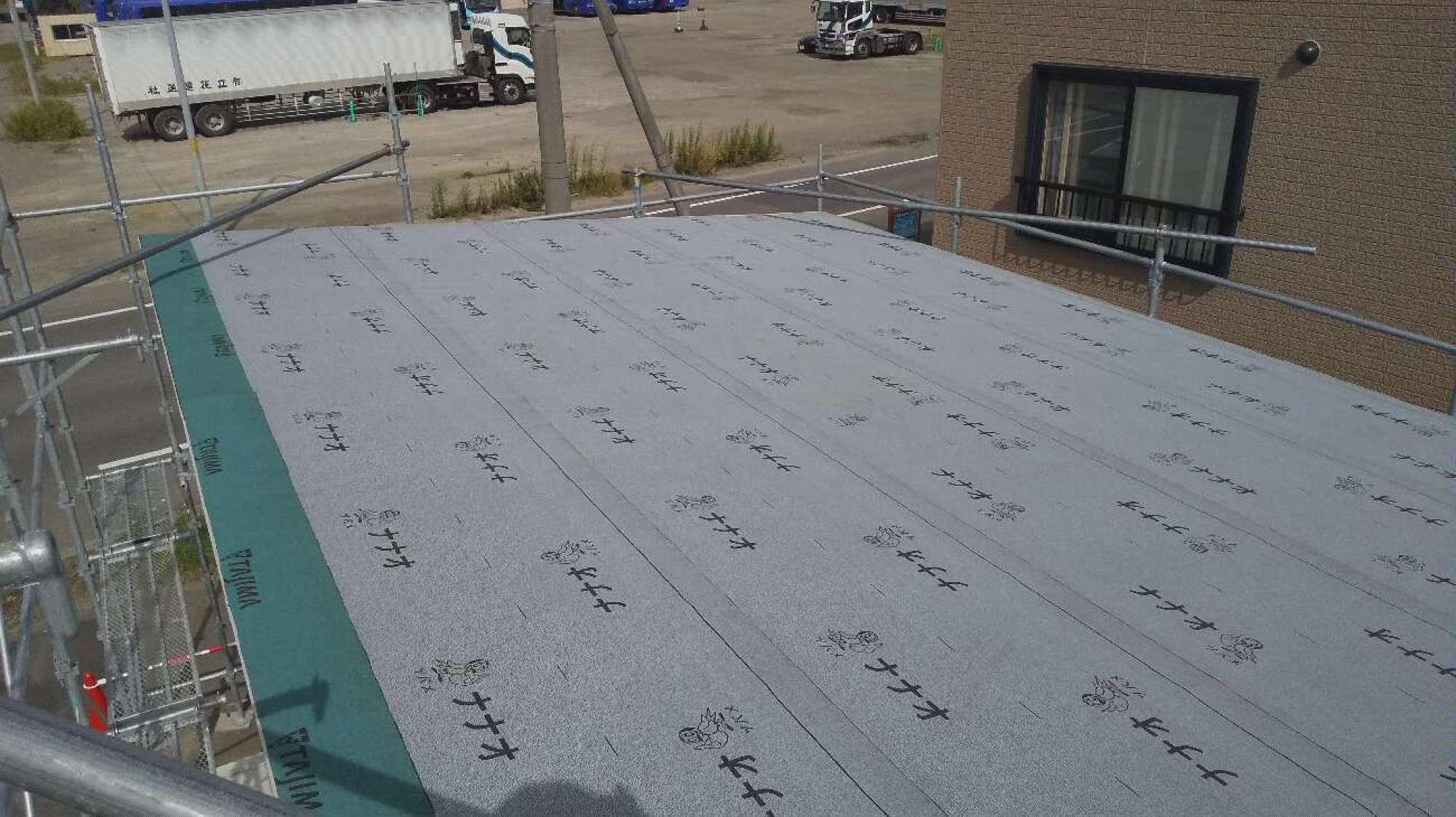 屋根 板金工事 -  -  -