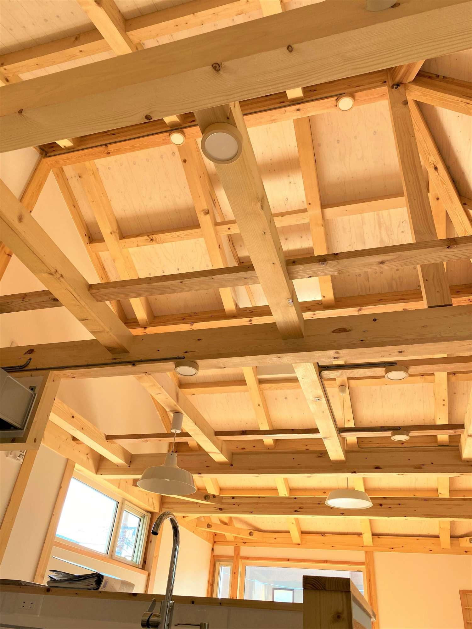 - 2階 LDK 同シリーズ イメージ写真木の家は、人にも、自分にもやさしくなれる/木組みの家 -  -