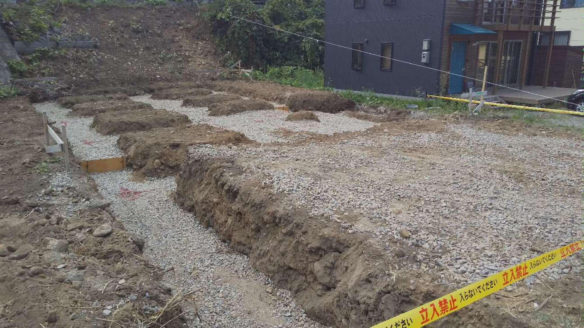 根掘り・埋め戻し -  -  -