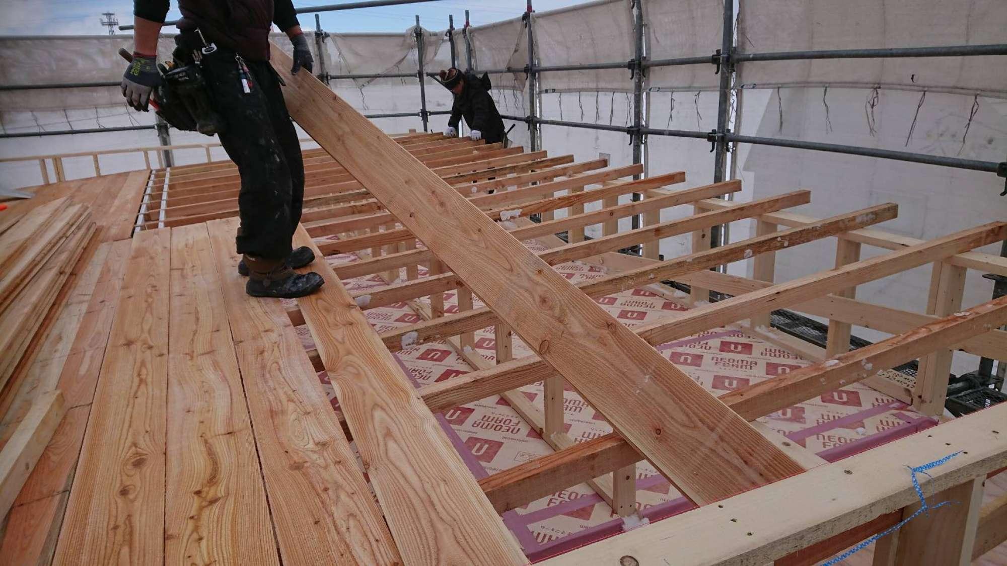 屋根造作 -  -  -