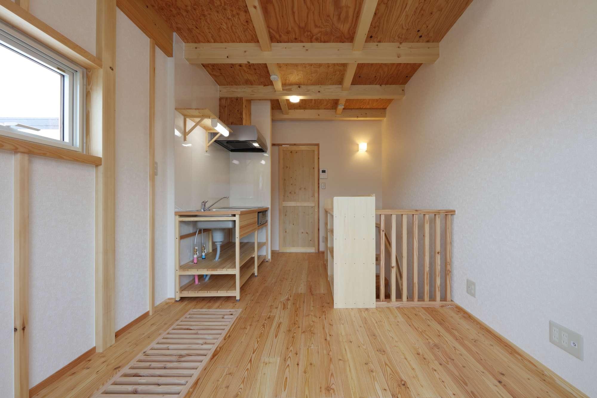 木の香りいっぱいの自分空間 - 2021年完成