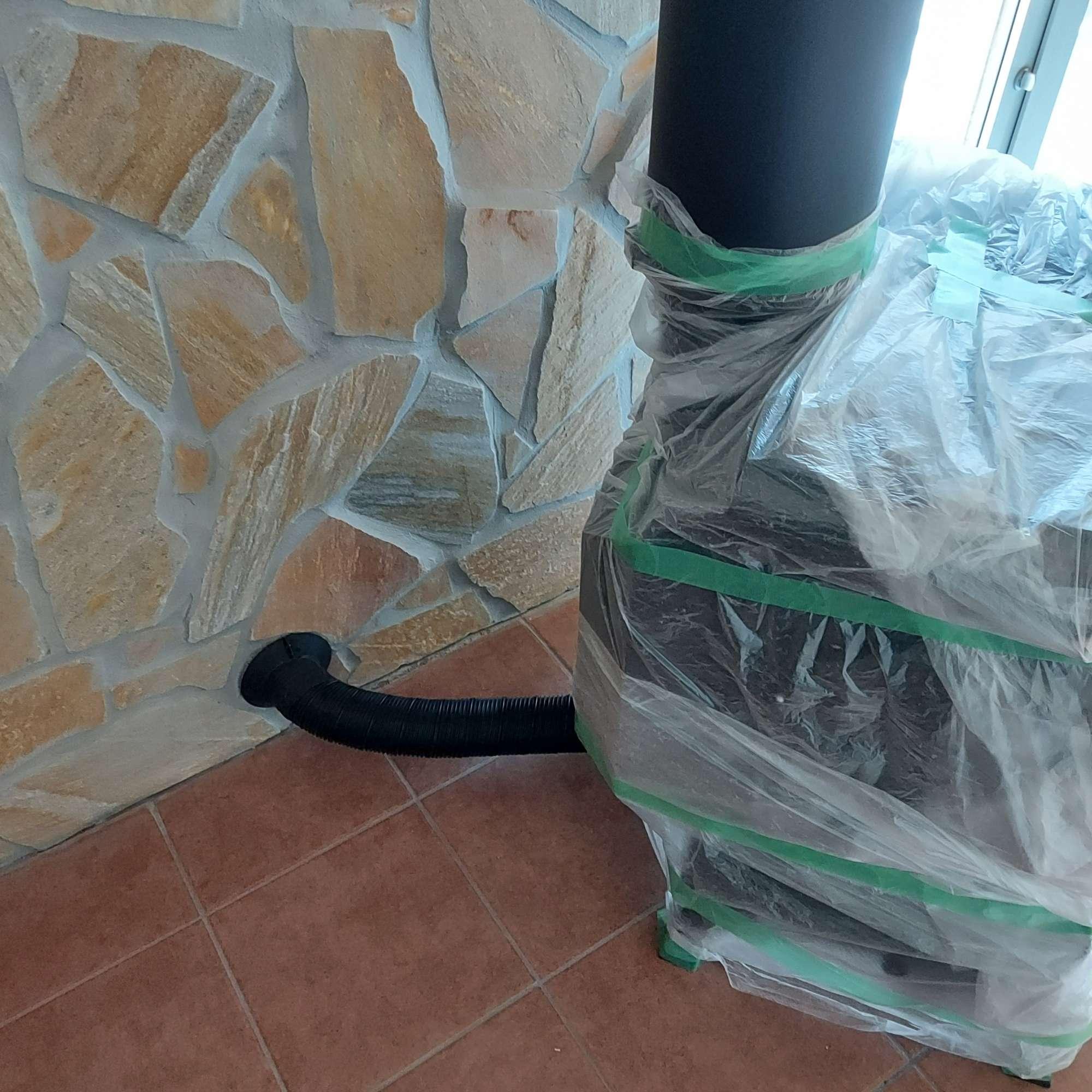 薪ストーブ設置 -  -  -