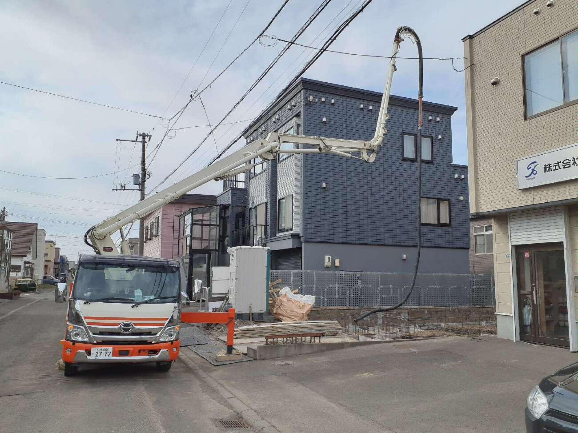 コンクリート打設工事 -  -  -