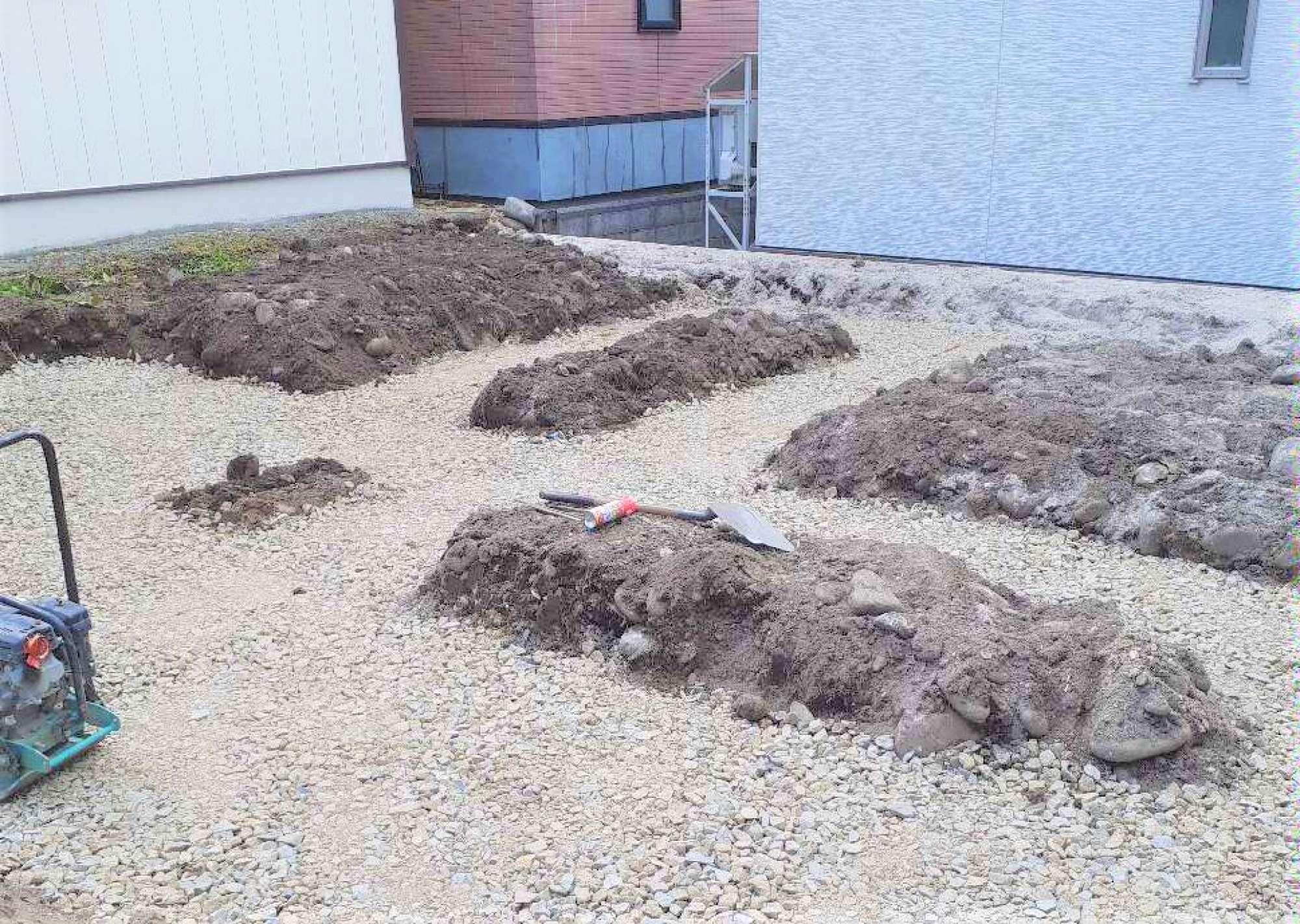 根掘り -  -  -