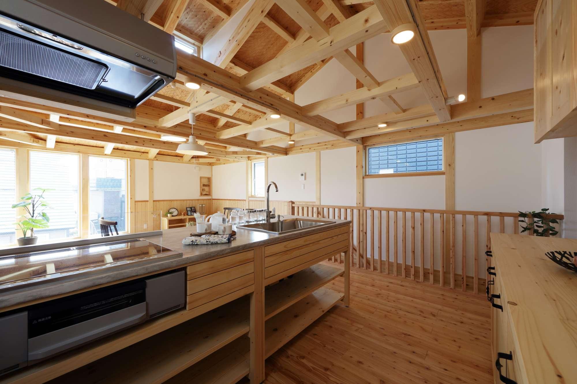 コンパクトハウス「木組みの家」シリーズ -