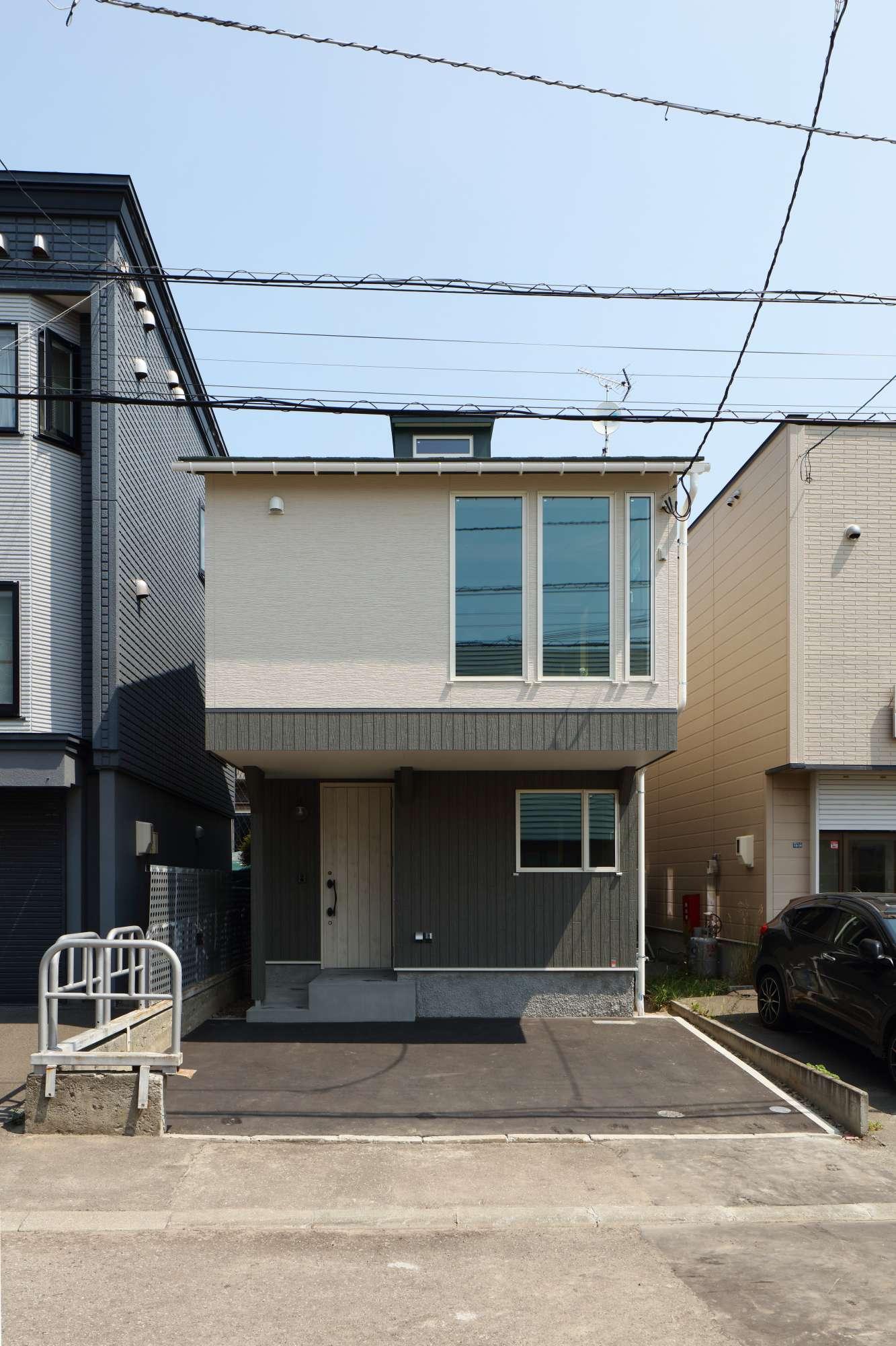 - シンプルでコンパクト木組みの家 -  -