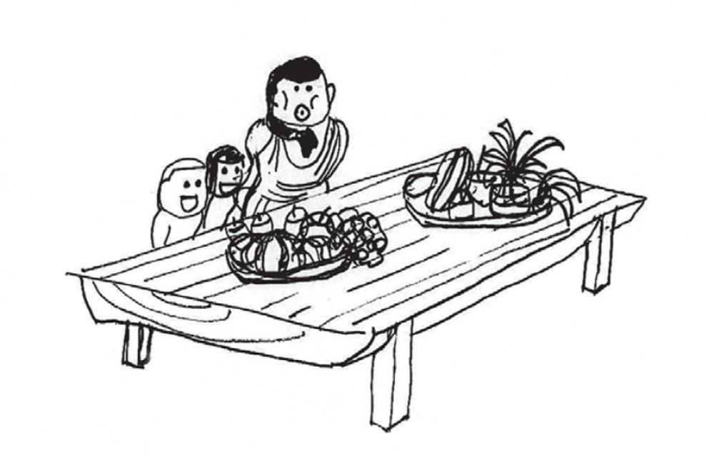 「丸太を引き取ってもらえませんか?」 -