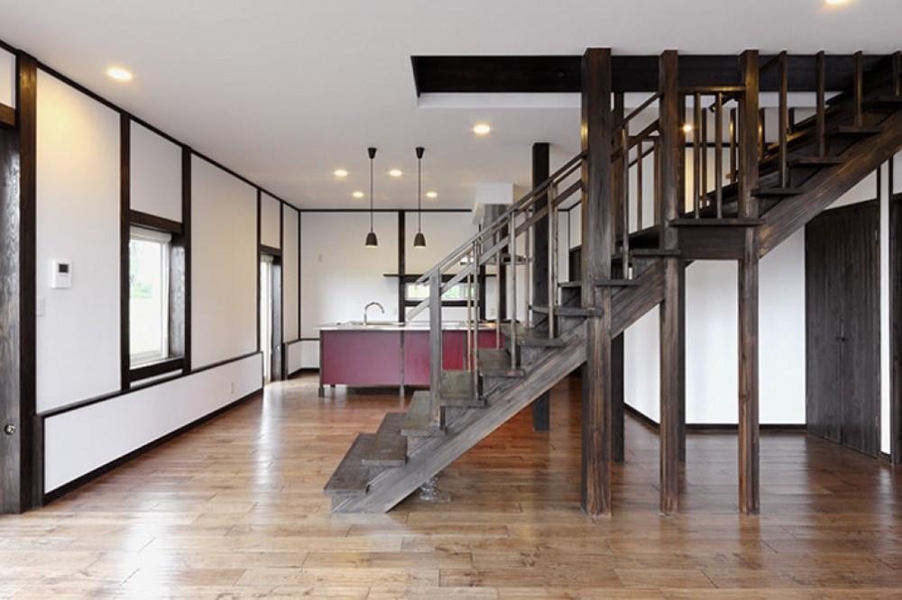 ゆるやかな段差が優しい階段 -  -  -