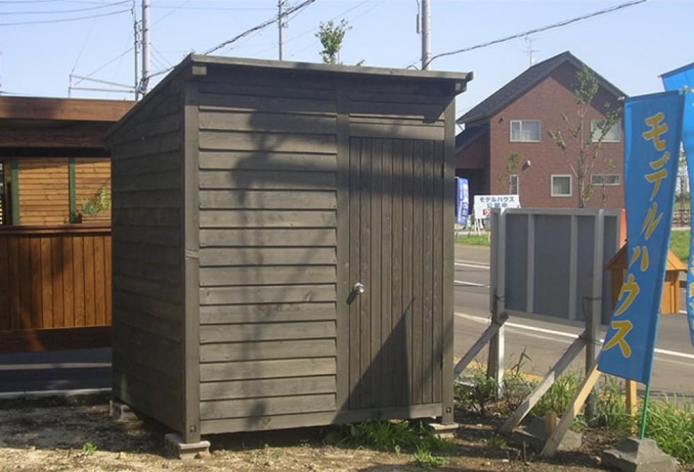物置小屋、1坪タイプ -  -  -