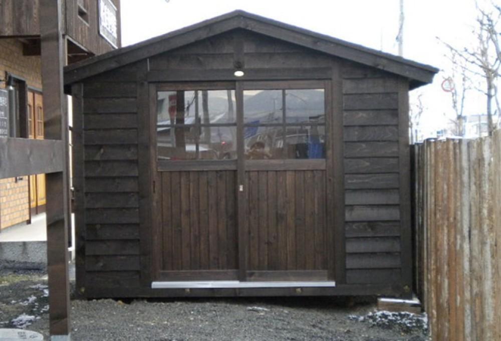 物置小屋、1.5坪タイプ -  -  -